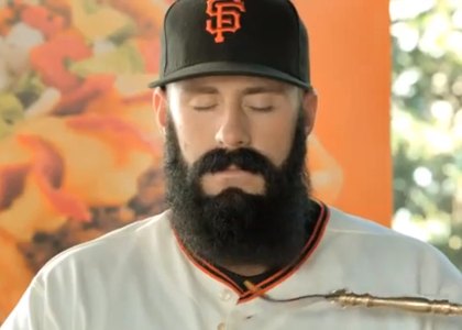 Brian Wilson in Taco Bell Commercial